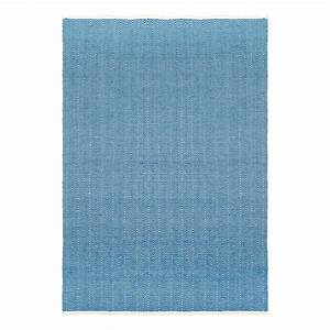 tapis en coton zigzag denim liv interior decoration With tapis en coton