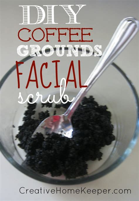 Simply bathe your dog as usual, rinse, scrub him or her down with coffee. DIY Coffee Grounds Facial Scrub {Natural Beauty} - Creative Home Keeper