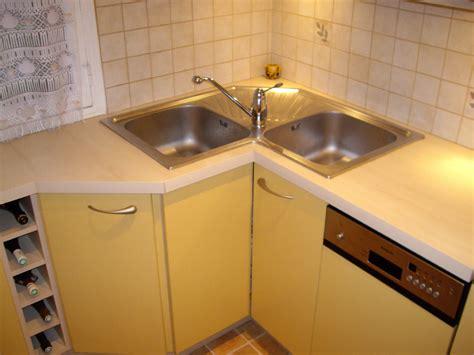 cuisine avec evier d angle supérieur meuble d angle cuisine ikea 1 evier angle