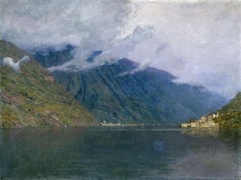 Isaac Levitan. Lake Como