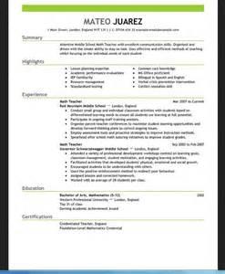 resume template for teachers for word resume template for teachers for word resumes design