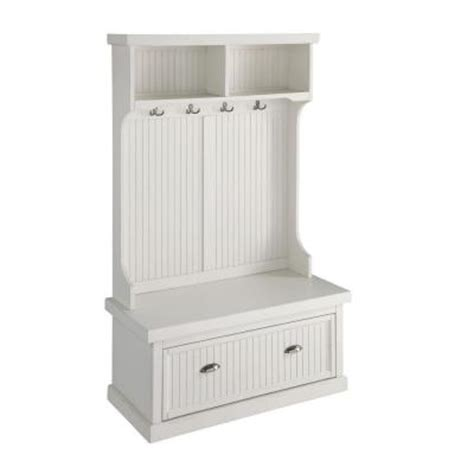 Home Styles Nantucket Distressed White Hall Tree502249