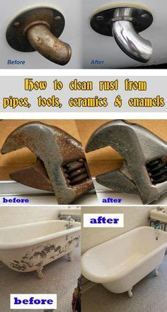 ideas  clean rust  pinterest cleaning