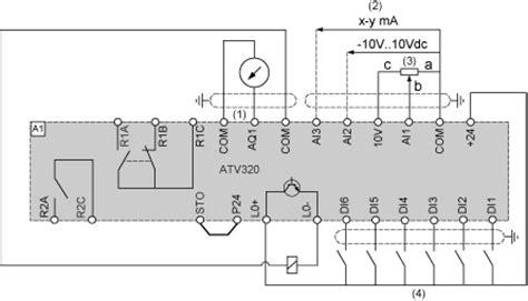 atv320u02m2c variable speed drive atv320 0 18kw 200