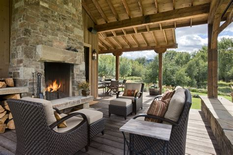 rustic outdoor living 15 amazing rustic deck designs that will enhance your outdoor living