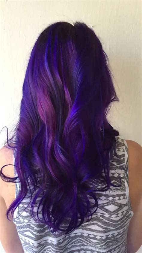 25 Best Ideas About Galaxy Hair On Pinterest Galaxy
