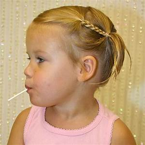 Coiffure Petite Fille Facile : coiffure petite fille rapide coiffure simple et facile ~ Dallasstarsshop.com Idées de Décoration