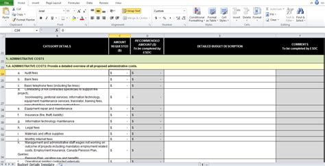 it budget template it budget template excel free excel tmp