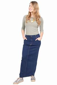 Jean Sizes In Inches Chart Long Jean Skirt For Women Long Skirts Kosher Casual