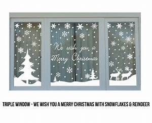 Christmas Window Stickers Grab e Store