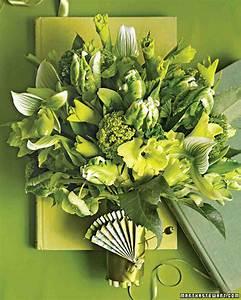 Green Wedding Bouquets | Martha Stewart Weddings