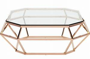 Table Basse Rose Gold : nuevo diamond square coffee table stainless steel or rose gold nuevo living ~ Teatrodelosmanantiales.com Idées de Décoration
