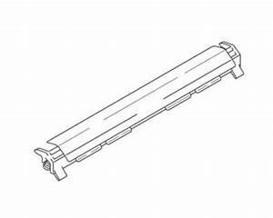 brother intellifax 4100e outer paper chute 1 oem With brother intellifax 4100e document receiving tray
