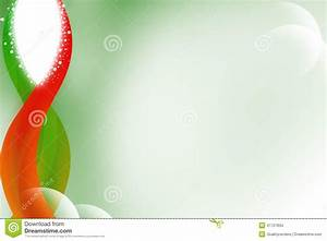Stock Images: Green and red wave left side, abstract ...