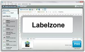 Dymo labelwriter software review labelzone blog for Dymo address label template