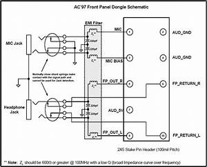 Ac U0026 39 97 And Hd Audio Front Panel Layouts