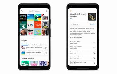 Google Podcasts App Play Podcast Android Listen