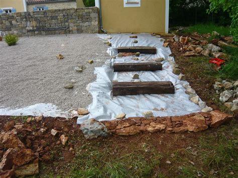 escalier en traverse de chemin de fer traverses de chemin de fer escalier jardin de travaux et de bricolage pour la maison et