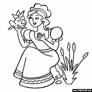 Images Of Frog Prince Coloring Pages Summer