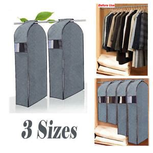 Wardrobe For Hanging Clothes by Wardrobe Hanging Clothes Garment Suit Coat Cover Dustproof