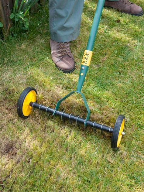 lawn aerator five tools for aerating your lawn hgtv