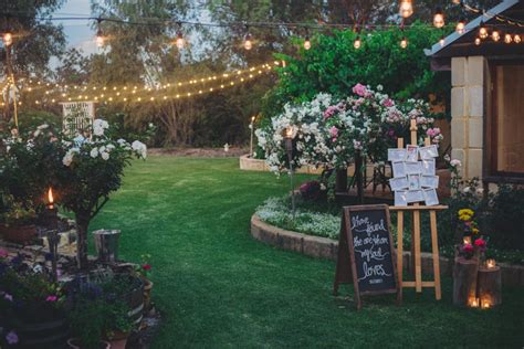 Wedding In My Backyard by Jess Ed S Boho Backyard Wedding Nouba Au Jess