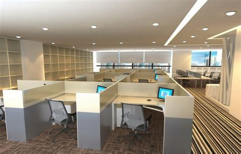 Office lobby interior partition design   Download 3D House
