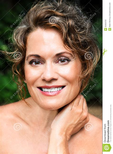 Beautiful Mature Woman Stock Image  Image 35464761