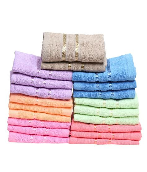 towel town set of 20 terry face towel multi buy towel