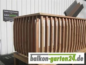 holzbalkon denver 1 von balkon garten24de With französischer balkon mit eckbank garten holz