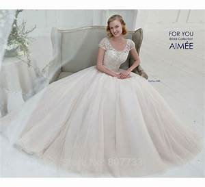 aliexpresscom buy w240 fantastic lace beaded top puffy With wedding dresses not puffy