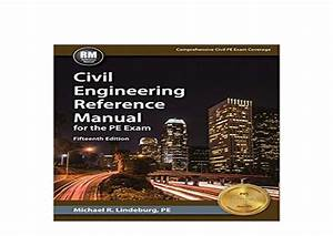 Ebook Harcover Library Civil Engineering Reference Manual