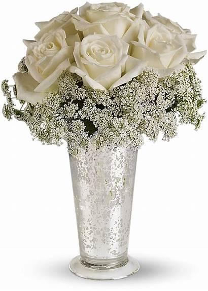 Centerpiece Teleflora Lace Flowers Winter Bouquet Flower