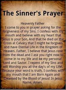 Sinner's Prayer | Heaven Awaits