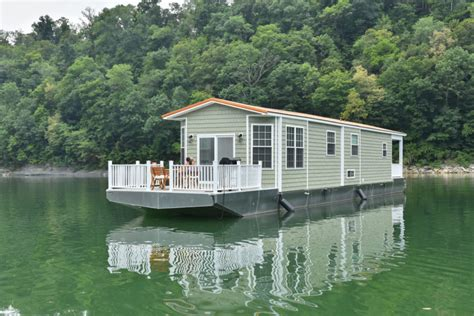 Motor Boat Homes by Meet The Tiny Houseboat