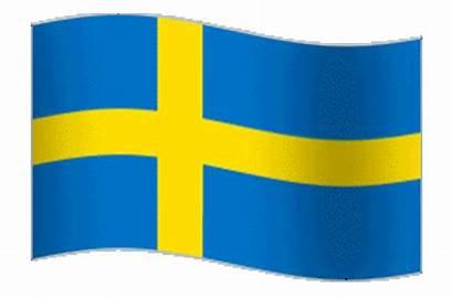 Sweden Flag Animated Swedish Waving Animation Flying