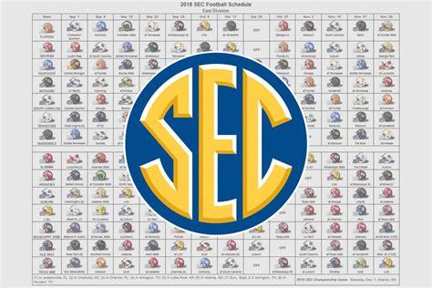 sec football helmet schedule
