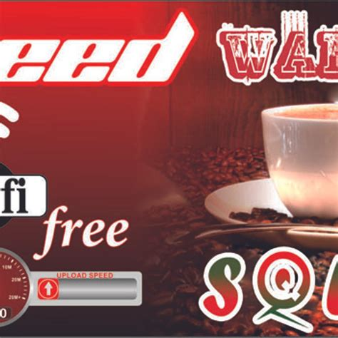 Cantik Spanduk Warkop Free Wifi Erlie Decor