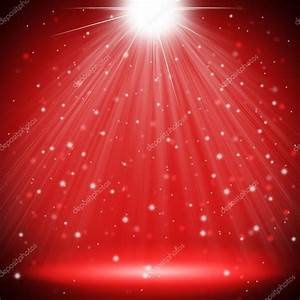 red stage light christmas background — Stock Photo ...