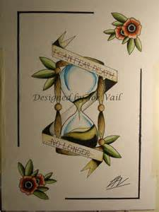 Hourglass' Traditional Tattoo