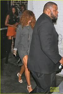 Rihanna Supports Travis Scott at Sayers Club Performance ...