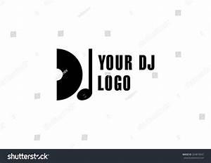 Dj Logo, Club Dance Logo Music Symbol. Stock Vector ...