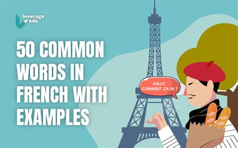 Master 50 Common Words In French With Examples! - Leverage Edu