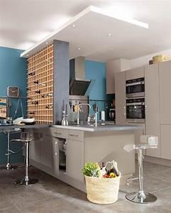 Cuisine Ouverte Salon : cuisine ouverte ou ferm e plus besoin de choisir ~ Voncanada.com Idées de Décoration
