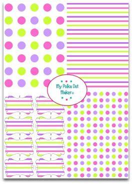 Polka Dot Paper Fun Stuff To Do