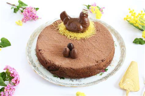 gateau de paques recette idee dessert decoratif paques
