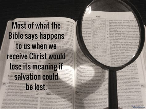christian lose salvation gotquestionsorg