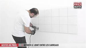 Renover Joint De Carrelage Mural : comment r nover les joints d 39 un carrelage mural youtube ~ Edinachiropracticcenter.com Idées de Décoration