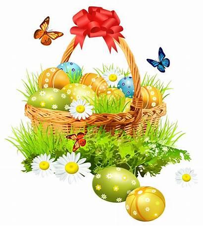 Easter Clipart Basket Butterflies Yopriceville Transparent Previous