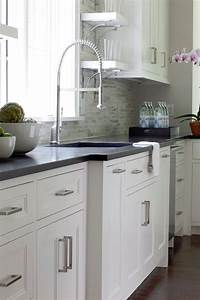 White inset cabinets contemporary kitchen milton for What kind of paint to use on kitchen cabinets for big metal wall art
